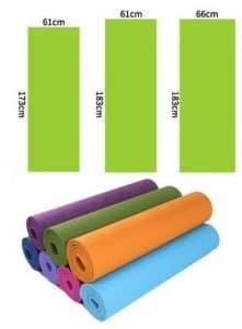 Как выбрать коврики для йоги